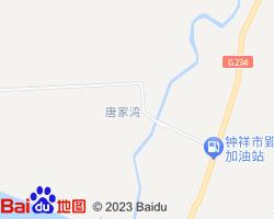 钟祥电子地图