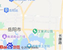 岳阳楼电子地图