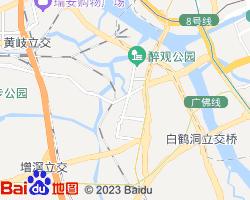 荔湾电子地图