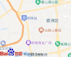香洲电子地图