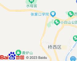 桥西电子地图