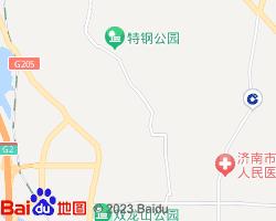 莱芜钢城区电子地图