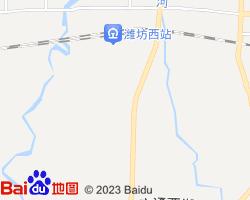 潍城电子地图