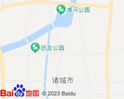 诸城电子地图