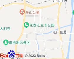 邗江电子地图