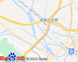 无锡北塘区电子地图