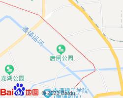 港闸电子地图