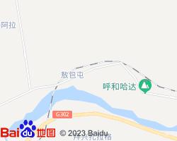 科尔沁电子地图