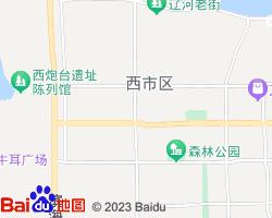 营口西市区电子地图