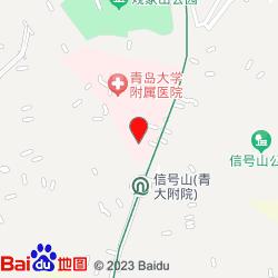 青岛大学附属医院(市南院区)-位置