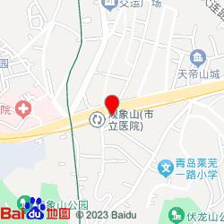 青岛市市立医院(本部)-位置