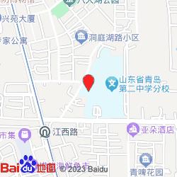 青岛龙田金秋妇产医院(市南)-位置
