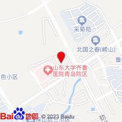 青岛内分泌糖尿病医院-位置