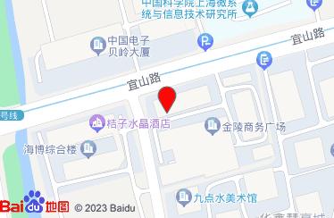 上海豪禾印務有限公司地圖