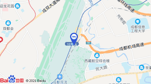成都东站约19km 成都机场客运站