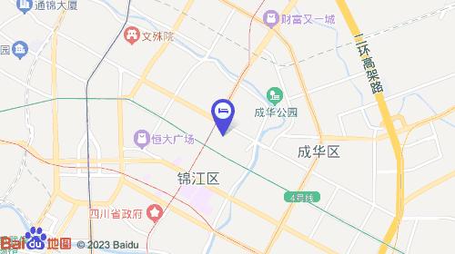【成都克拉玛依酒店】地址:锦江区新华大道三槐树路