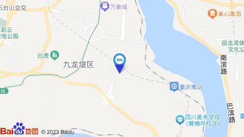 重庆杨家坪动物园地图