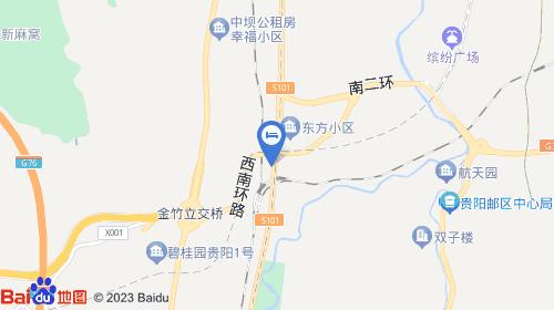 【贵阳大桥商务酒店(花溪十里河滩贵州大学店)】地址