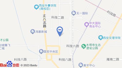【西安雁塔区众鑫宾馆】地址:科技四路与团结南路