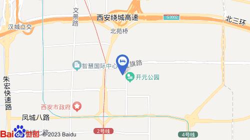 西安咸阳国际机场约20km