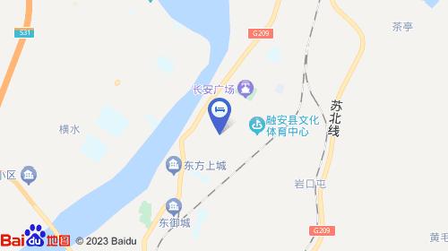 酒店位于广西柳州市融安