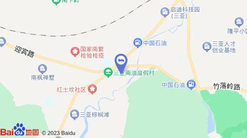 三亚凤凰机场约19km 三亚火车站约10km