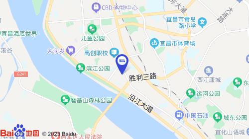 宜昌三峡机场约24km 宜昌站约1km
