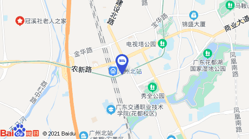 广州南站44km 广州北站汽车