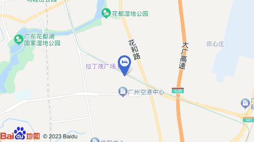 广州西站约26km 广州南站约