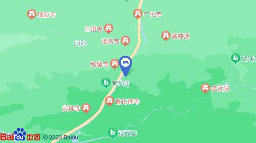 忻州市五台山风景区台怀镇街