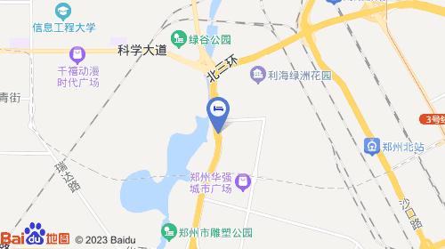 郑州新郑机场约38km 郑州站约8km