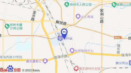 郑州东站约11km 郑州火车站约633m