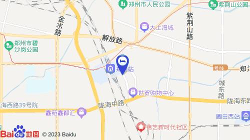 郑州东站约11km 郑州火车站约741m