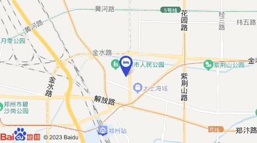 郑州新郑机场约31km 郑州站约2km