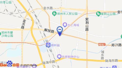 人民路约894m 郑州火车站