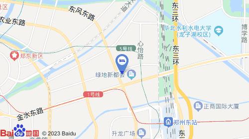 郑州新郑机场约29km 郑州东站约2