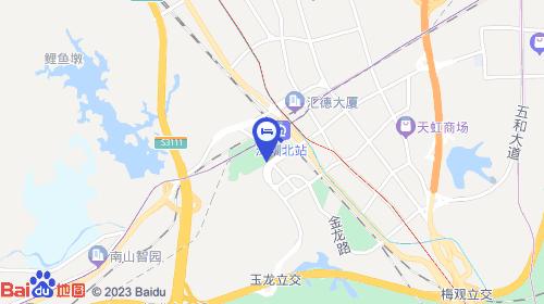 深圳宝安国际机场约22km