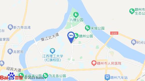 赣州黄金机场地图
