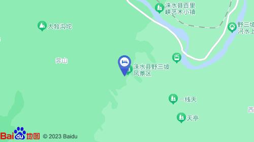 河北省保定市涞水县野三坡镇百里峡风景区
