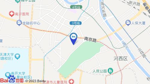 滨海国际机场14km 天津南站2km