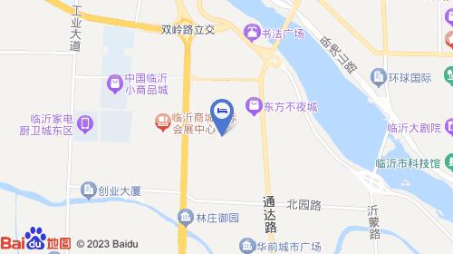 临沂飞机场位置