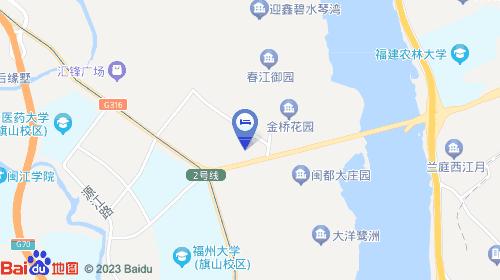 酒店位于福州市闽侯县