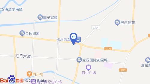 淮安机场连接线路图