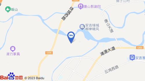 安吉龙王山风景区地图