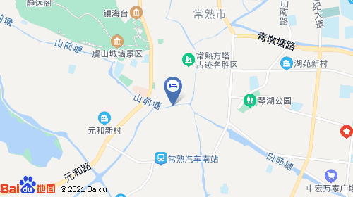 【汉庭酒店(常熟服装城店)(原常熟方塔街店)】地址