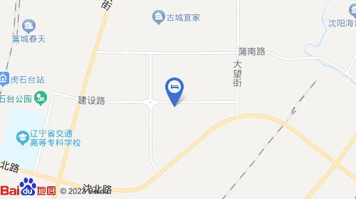 沈阳森林动物园地图