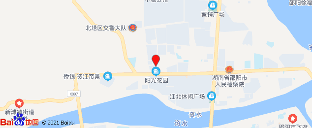 邵阳市北塔区规划图