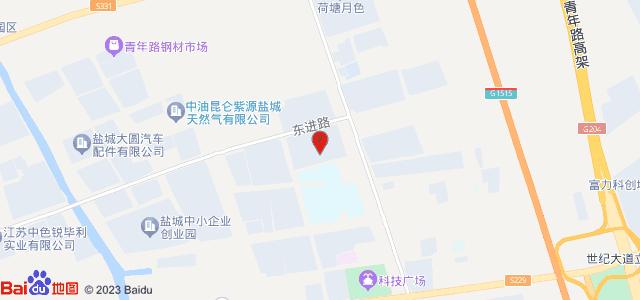 盐城金樾府 地图