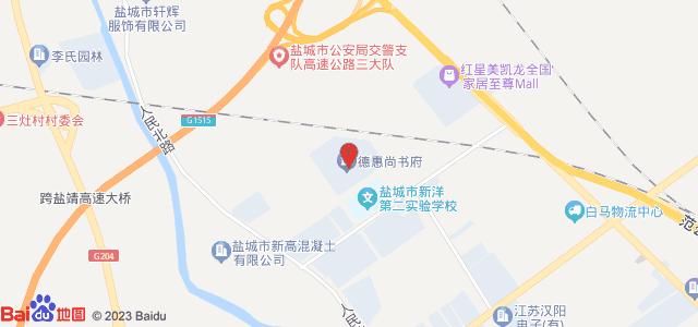 德惠·尚书府 地图