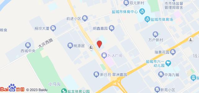 前进公寓 地图